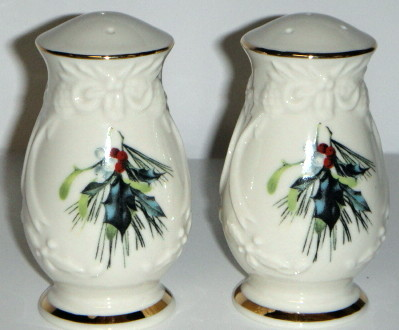 Lenox winter Greetings Salt and Pepper