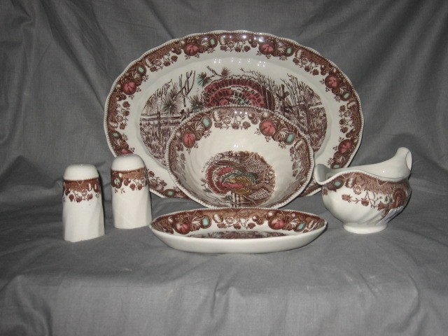 Johnson Brothers His Majesty & Turkey \u2013 Themed China Patterns For Thanksgiving | Classic ...
