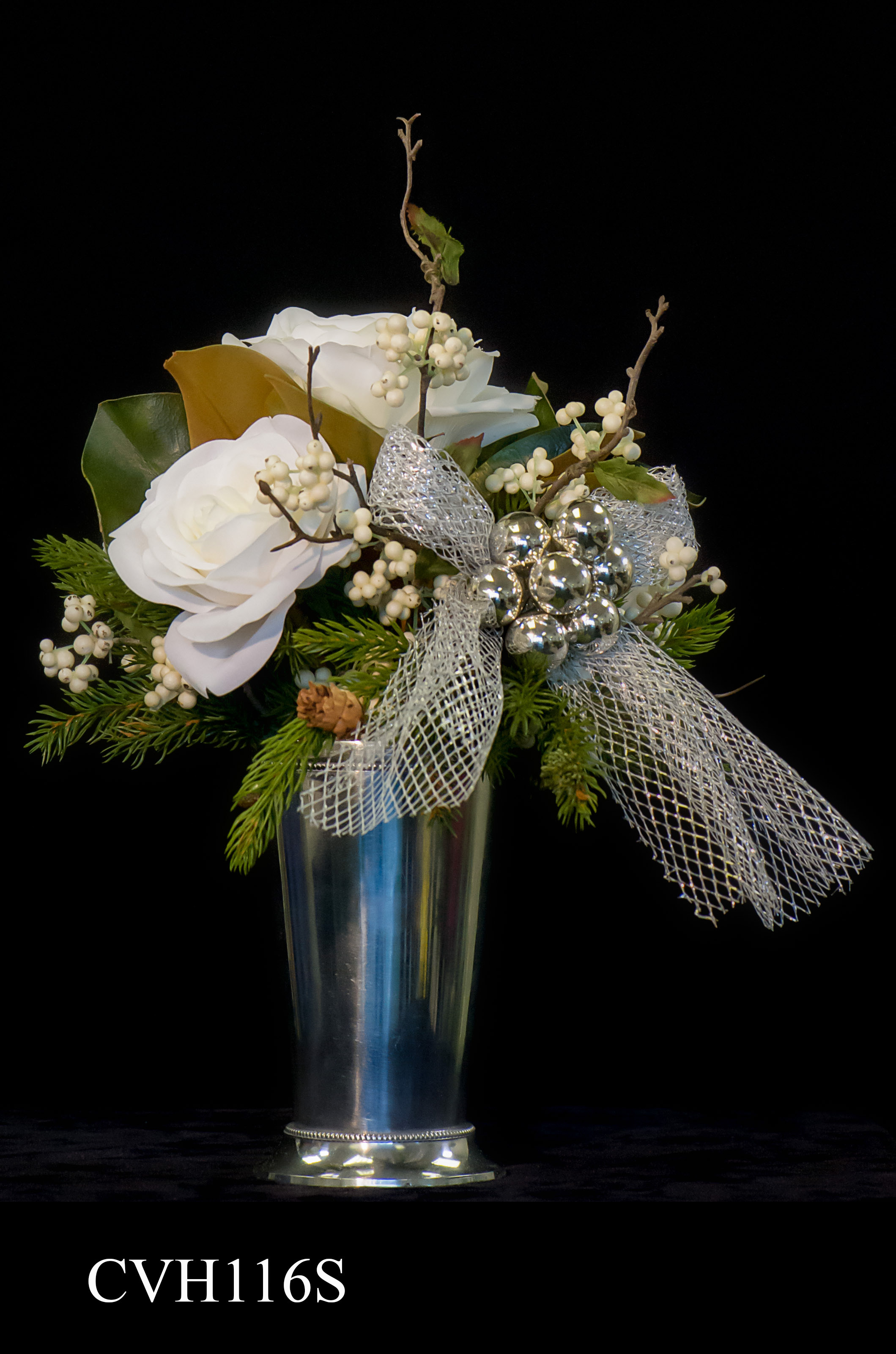 Silk Floral Arrangement by Orchid HOLLY