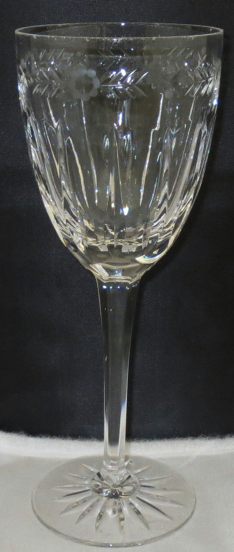 Wedgwood calendore crystal - Wedgwood crystal wine glasses ...
