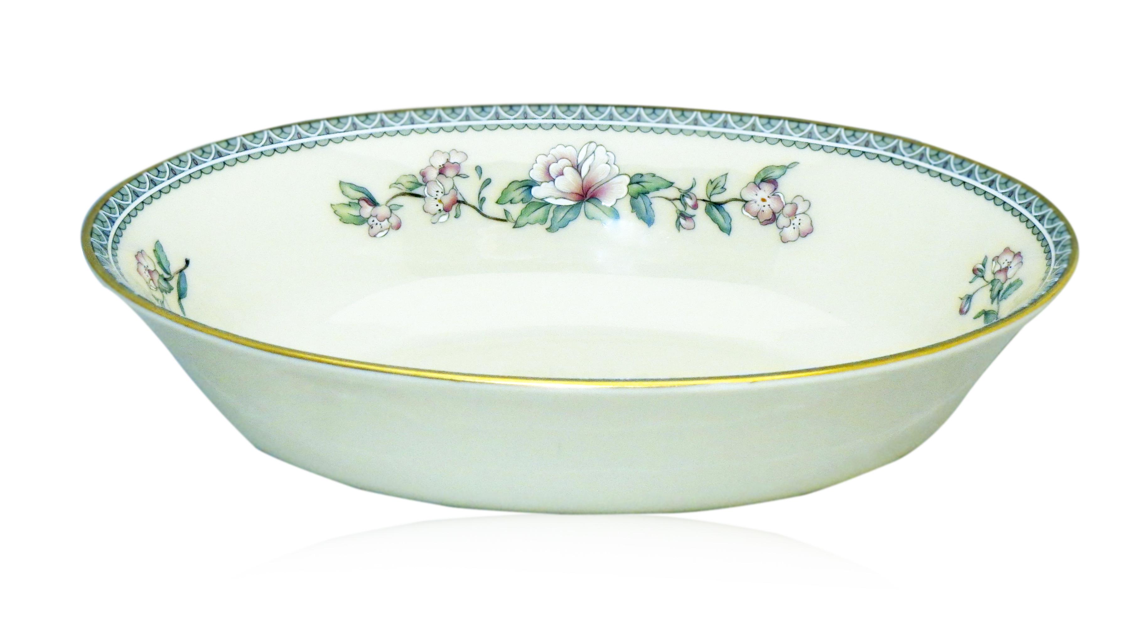 Lenox serenade china lenox serenade 9 oval vegetable bowl reviewsmspy