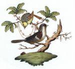 Herend Rothschild Bird Motif #1