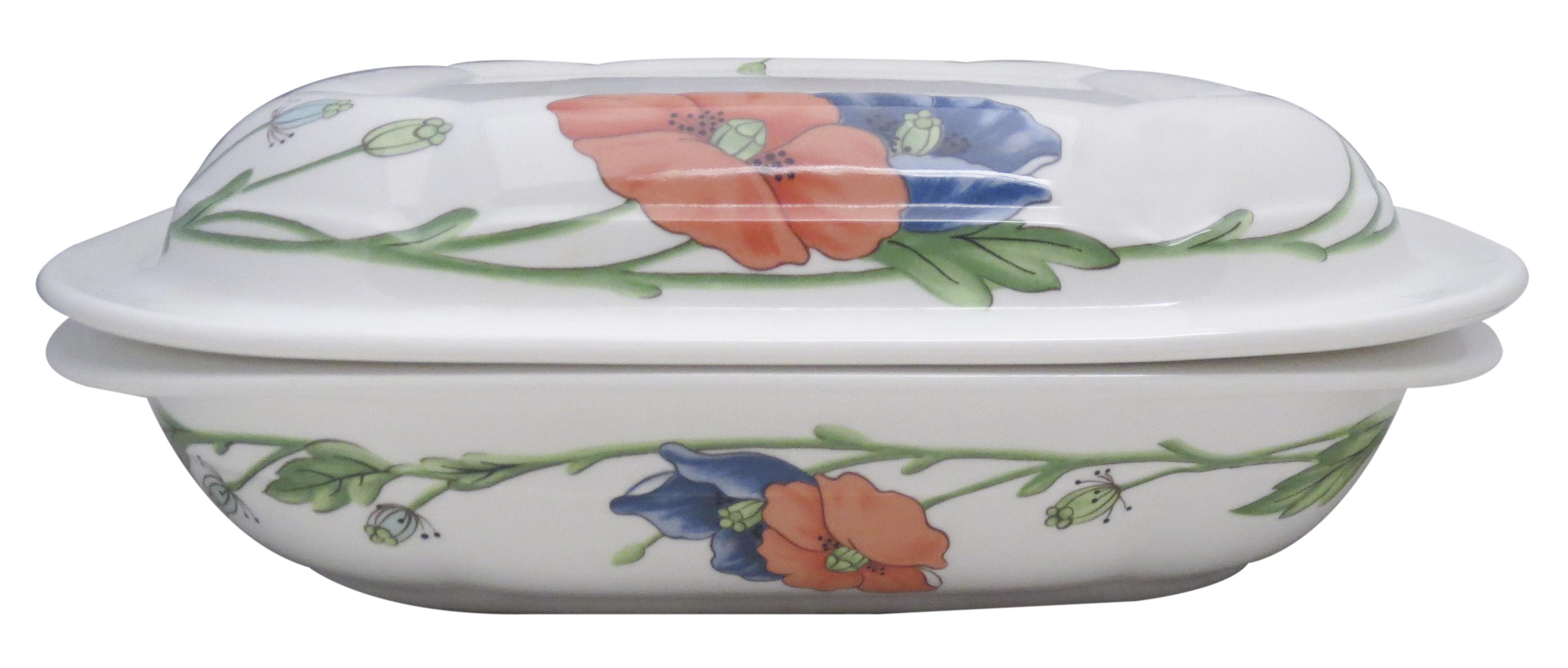 Villeroy boch amapola 2 quart square microwave baker - Villeroy y boch ...