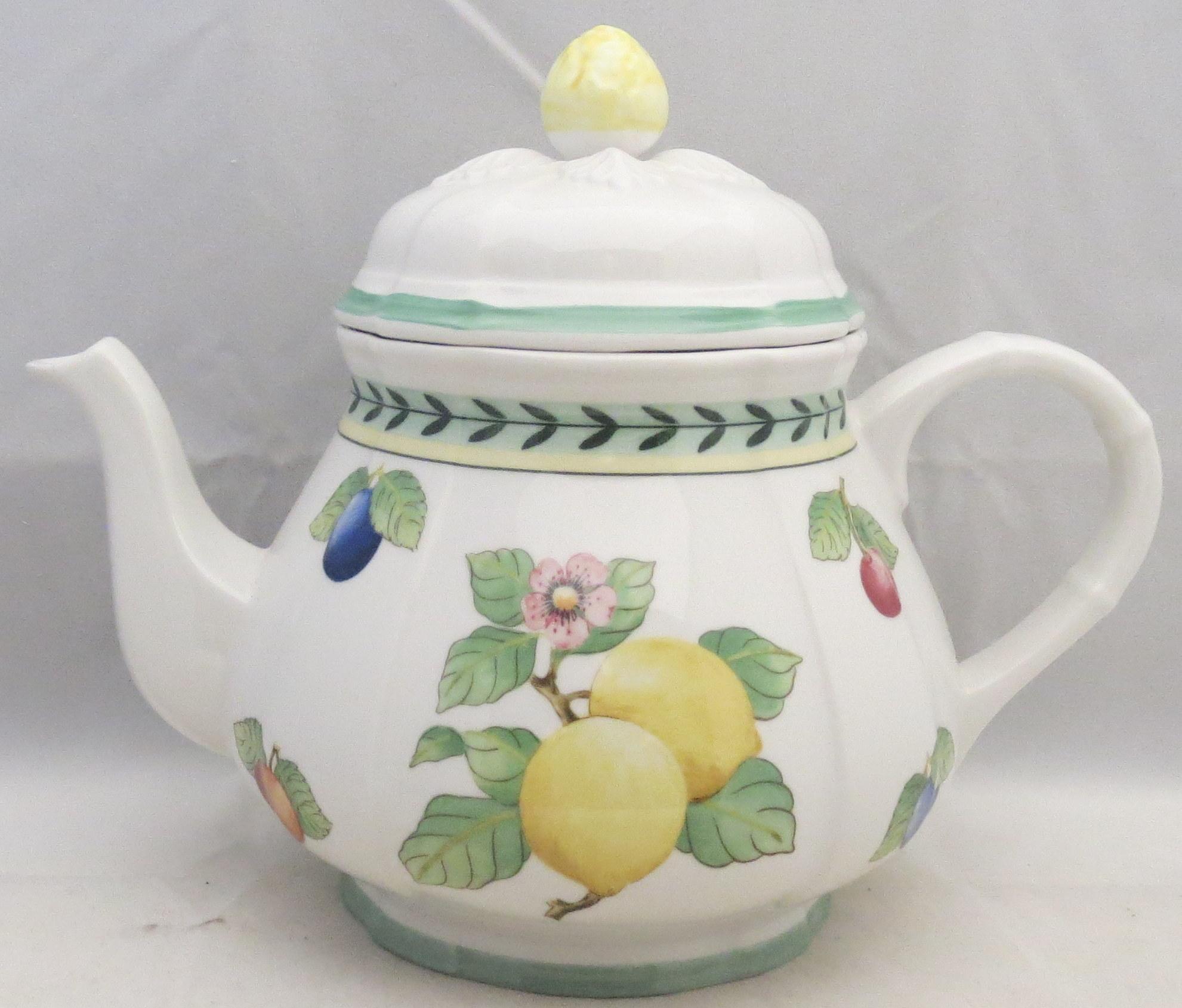 Villeroy boch french garden fleurence teapot lid ebay for Villeroy and boch french garden