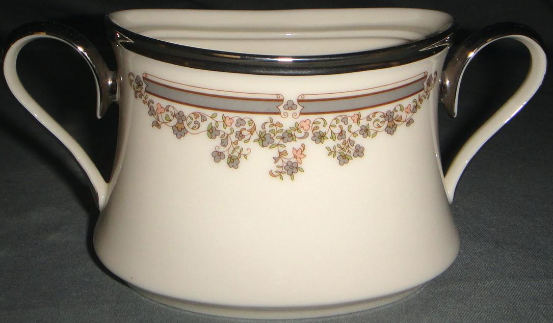 Lenox Lace Point Sugar Bowl No Lid