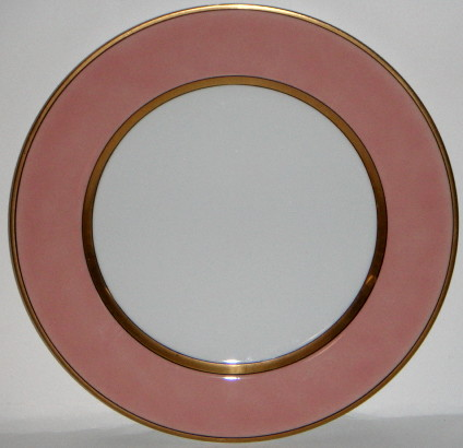 Fitz & Floyd Renaissance Peach China