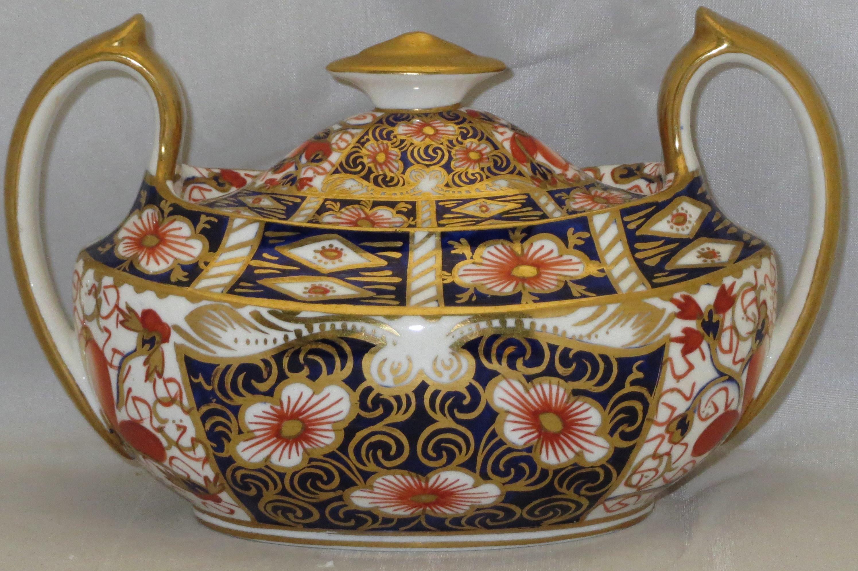 Sugar bowls with lids - Royal Crown Derby Traditional Imari Sugar Bowl Lid