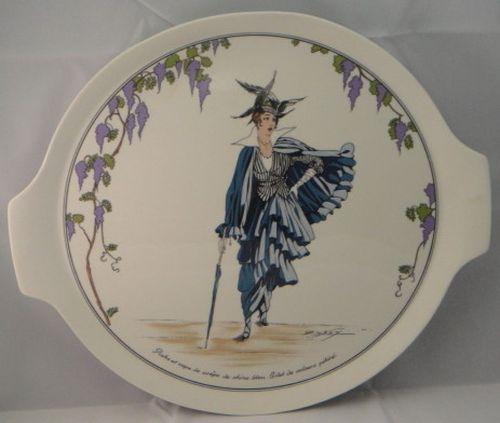 Villeroy Boch Design 1900 Handled Cake Plate
