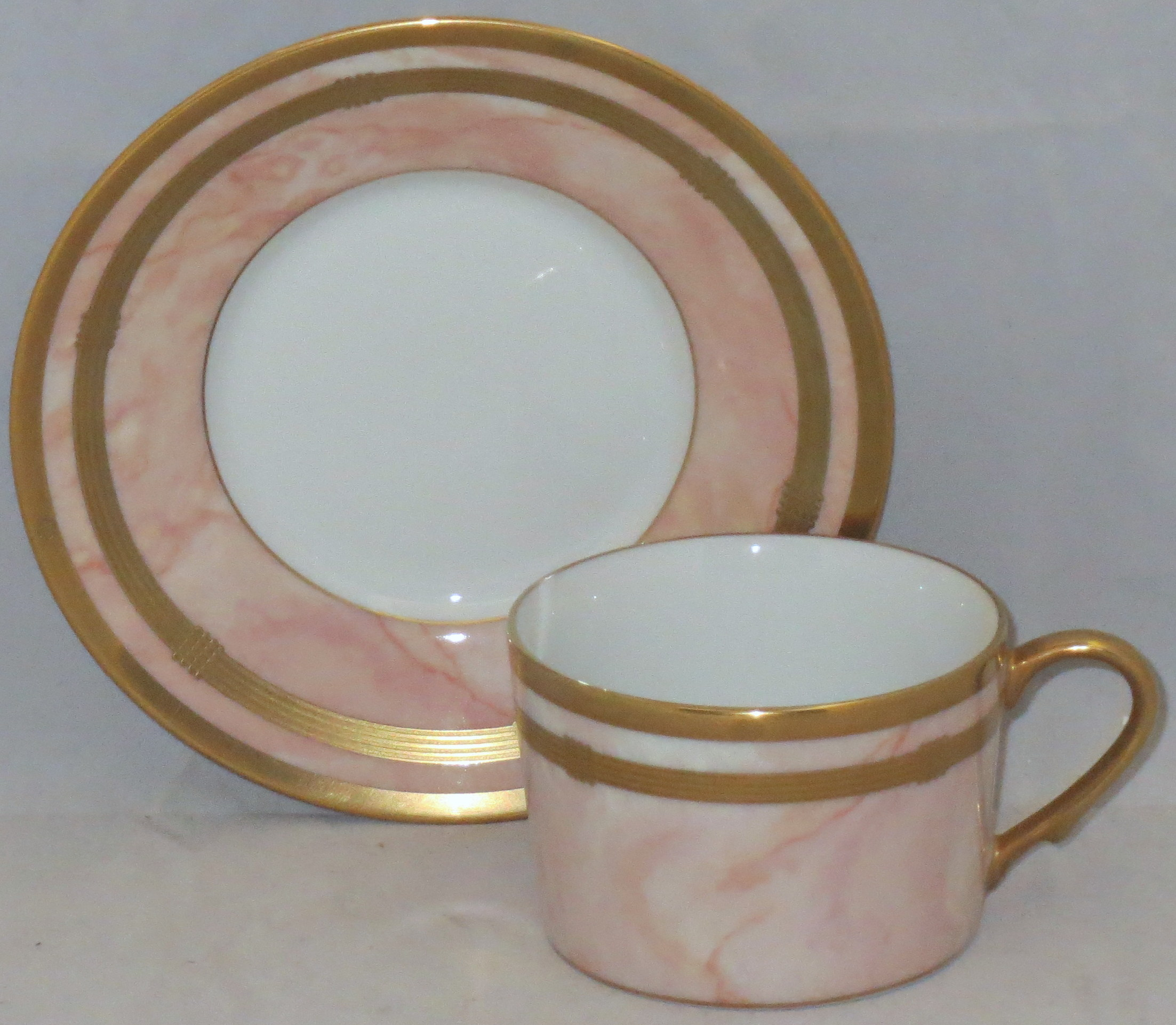 Christian Dior Gaudron-Marbre Rose 5 Piece Place Setting