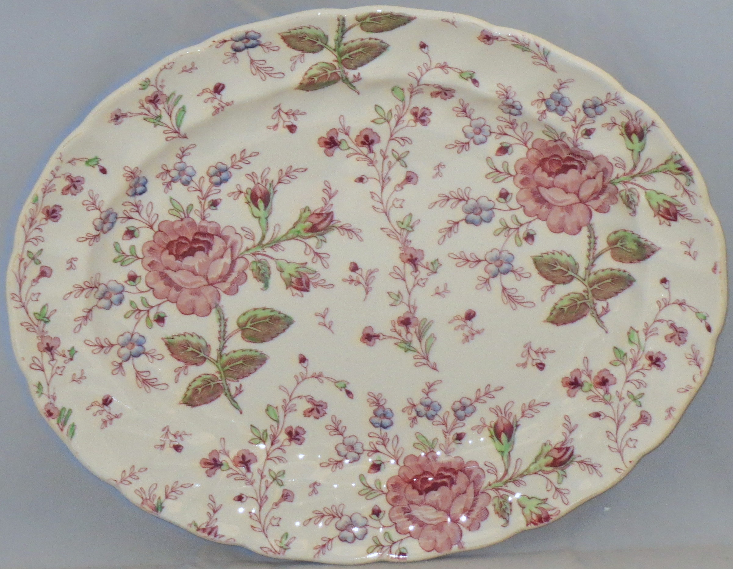 China  Johnson Brothers  Johnson Brothers Rose Chintz-Pink ( made In England  St&) & China :: Johnson Brothers :: Johnson Brothers Rose Chintz-Pink ...
