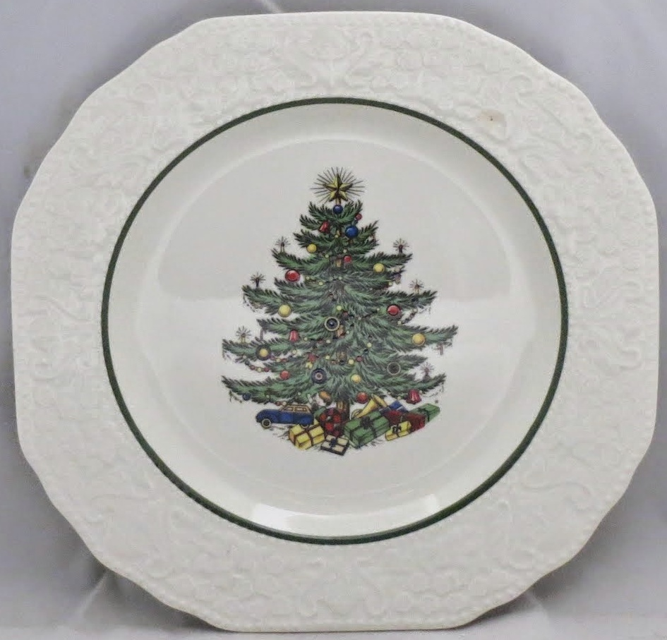 China :: Cuthbertson :: Cuthbertson Dickens Embossed Christmas (Cream)