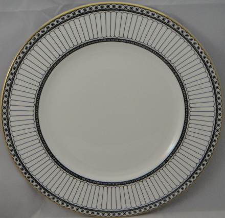 Wedgwood Colonnade Black Dinner Plate