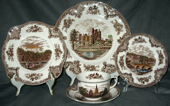 China  Johnson Brothers  Johnson Brothers Old Britain Castles (Brown / Multicolor) & China :: Johnson Brothers :: Johnson Brothers Old Britain Castles ...