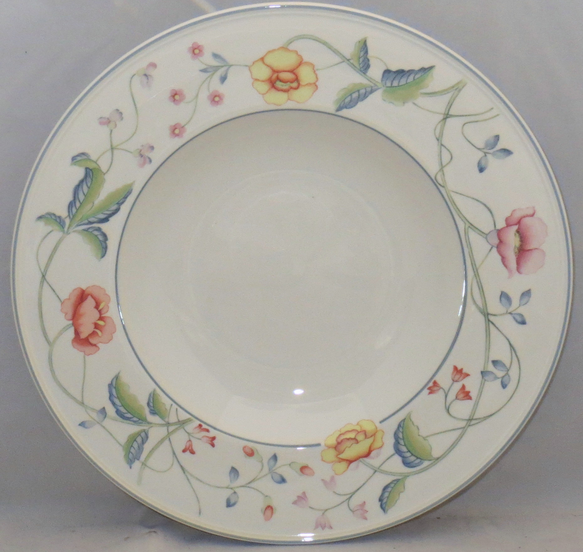 Villeroy & Boch Albertina Large Rim Soup Bowl
