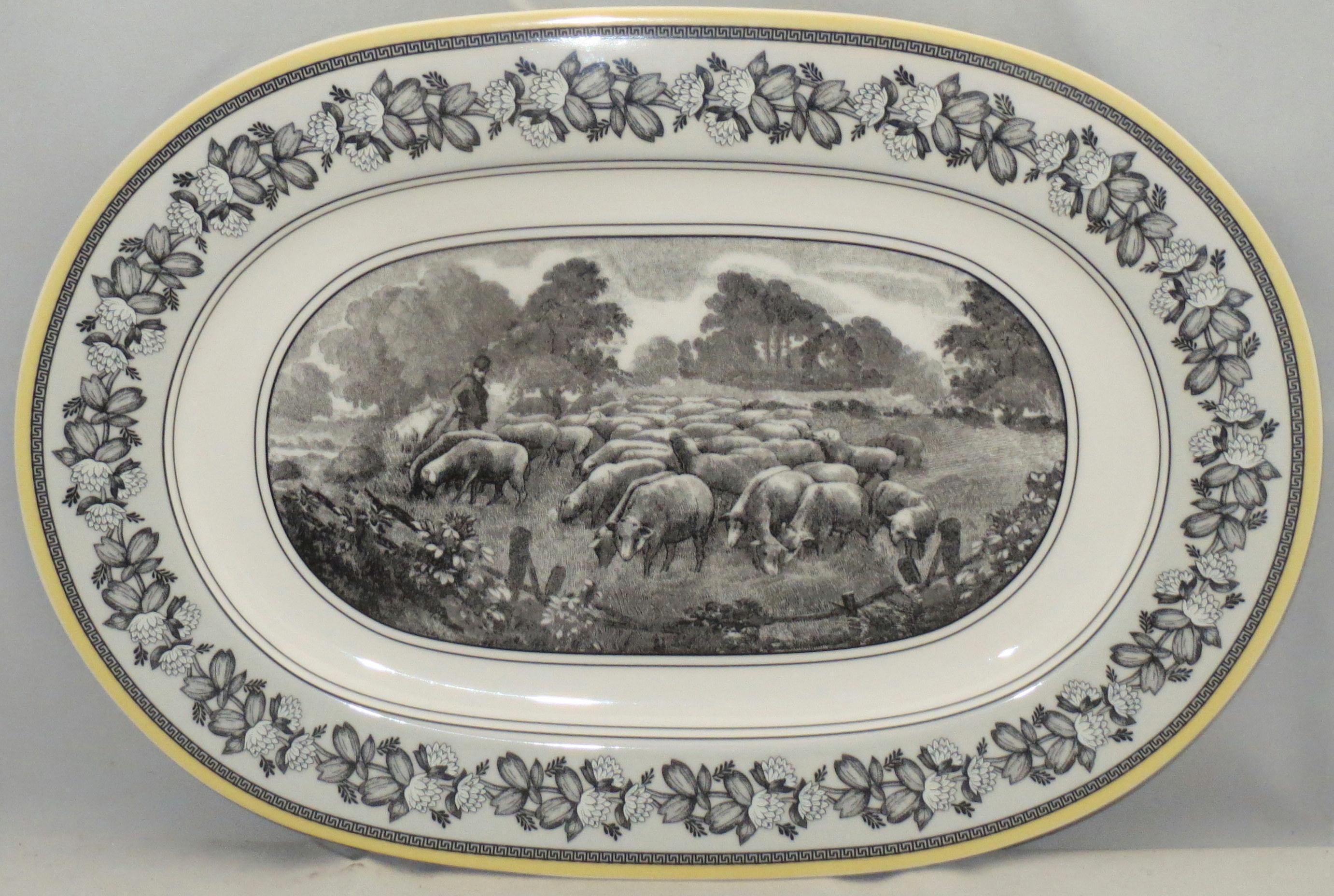 Villeroy Boch Audun Ferme 13 Oval Serving Platter