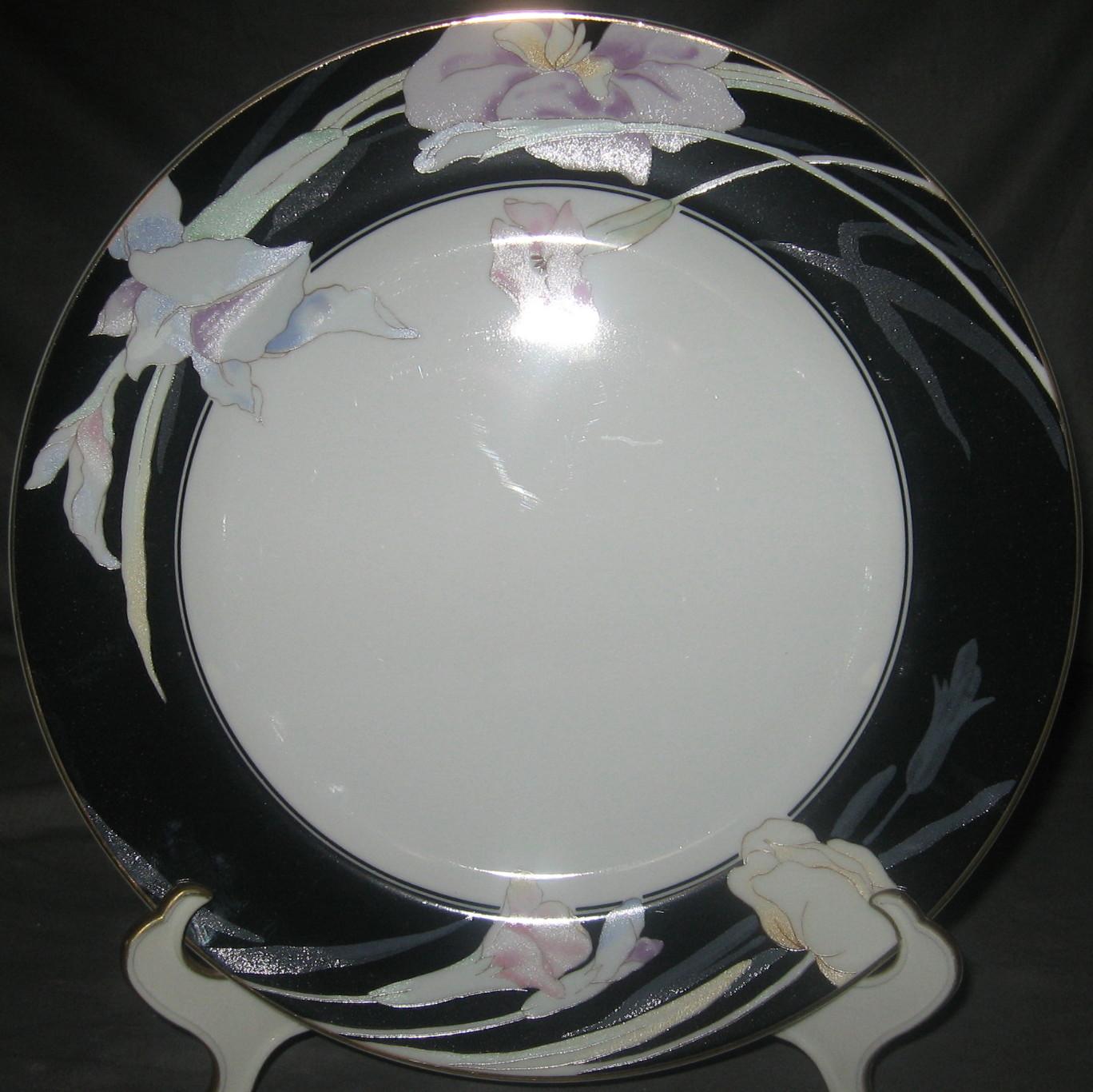 Mikasa Charisma-Black Dinner Plate