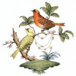 Herend Rothschild Bird Motif #6